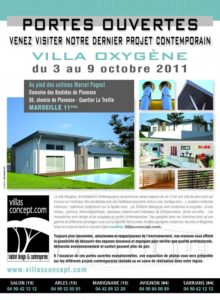 portes ouvertes villas concept 2011 marseille